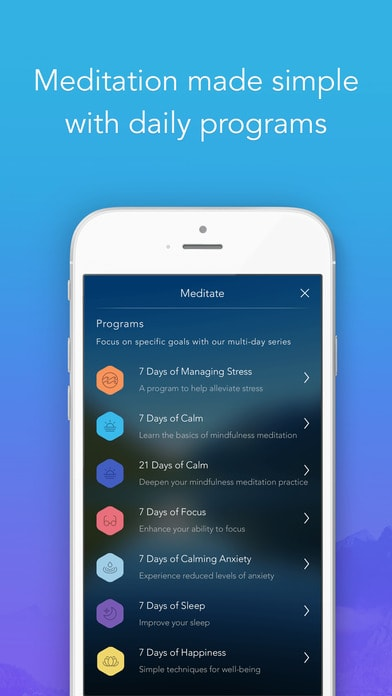 Calm: Guided meditation | Tools and apps | ReachOut Australia