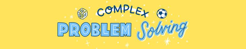 cartoon that says complex problem solving