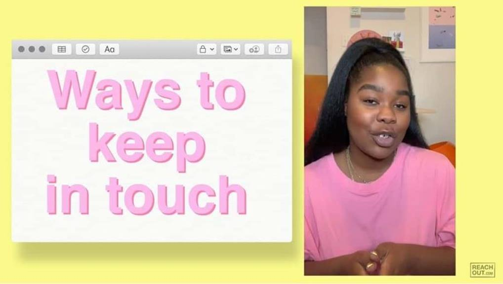 ways to keep in touch flexmami woman on facetime