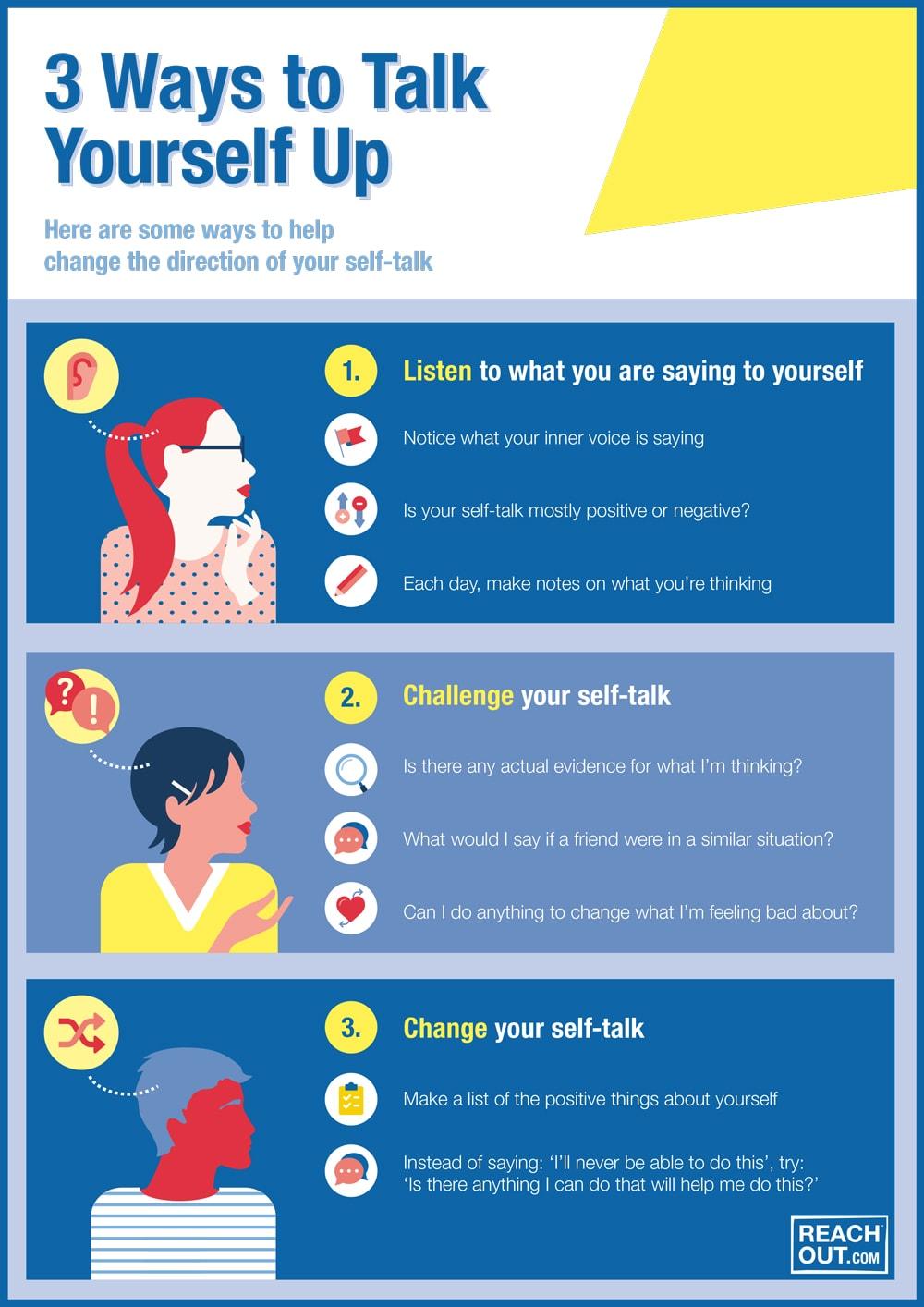 3 Ways To Talk Yourself Up Confidence Reachout Australia